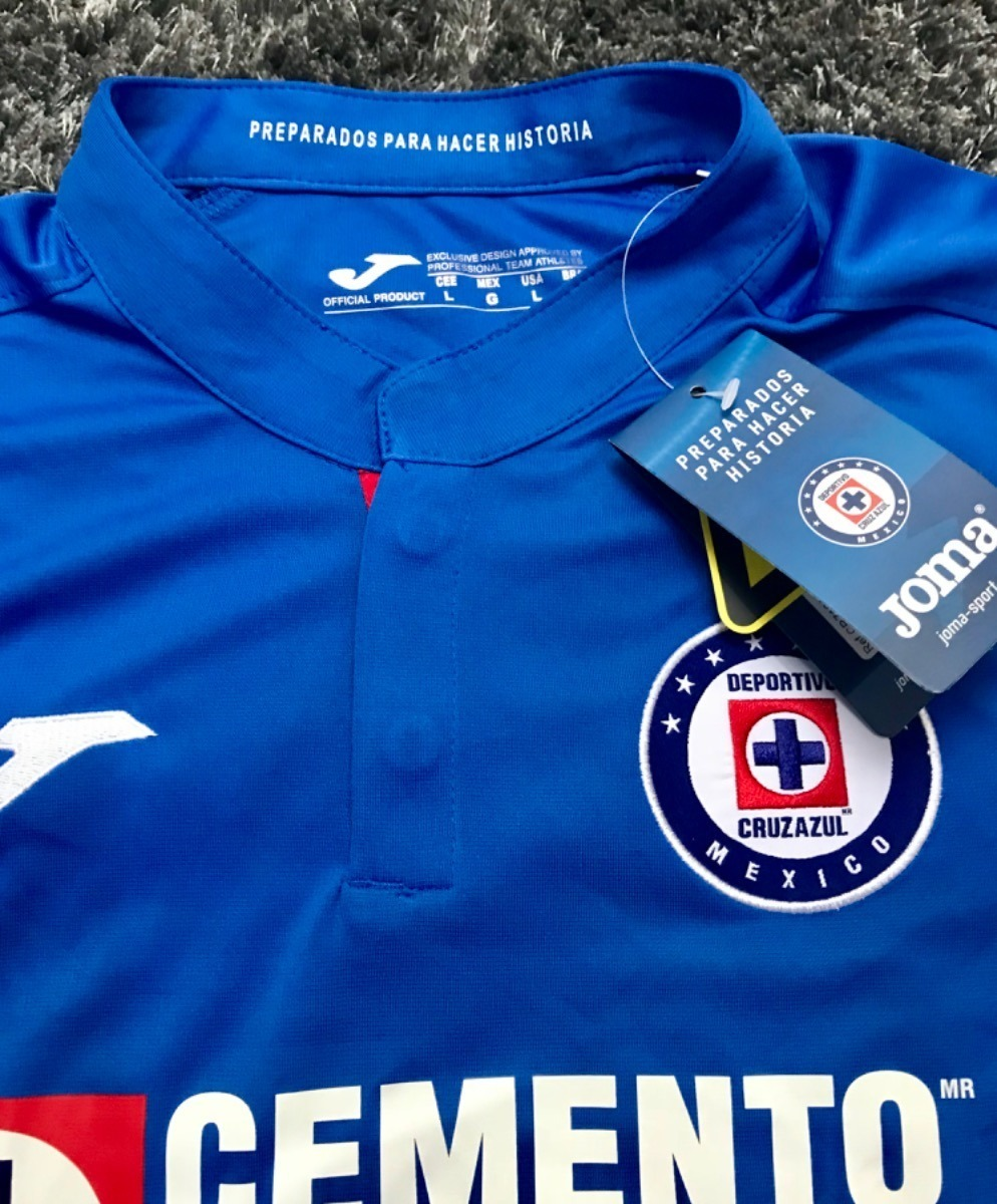be47841c5da1d camisa cruz azul mexico 18/19 pronta entrega prod.n/brasil. Carregando zoom.