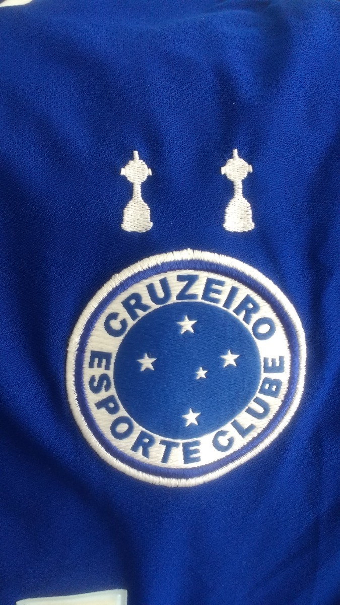 Camisa Cruzeiro 2004 - Fiat Stilo - Alex  10 - R  100 38e6933803db5