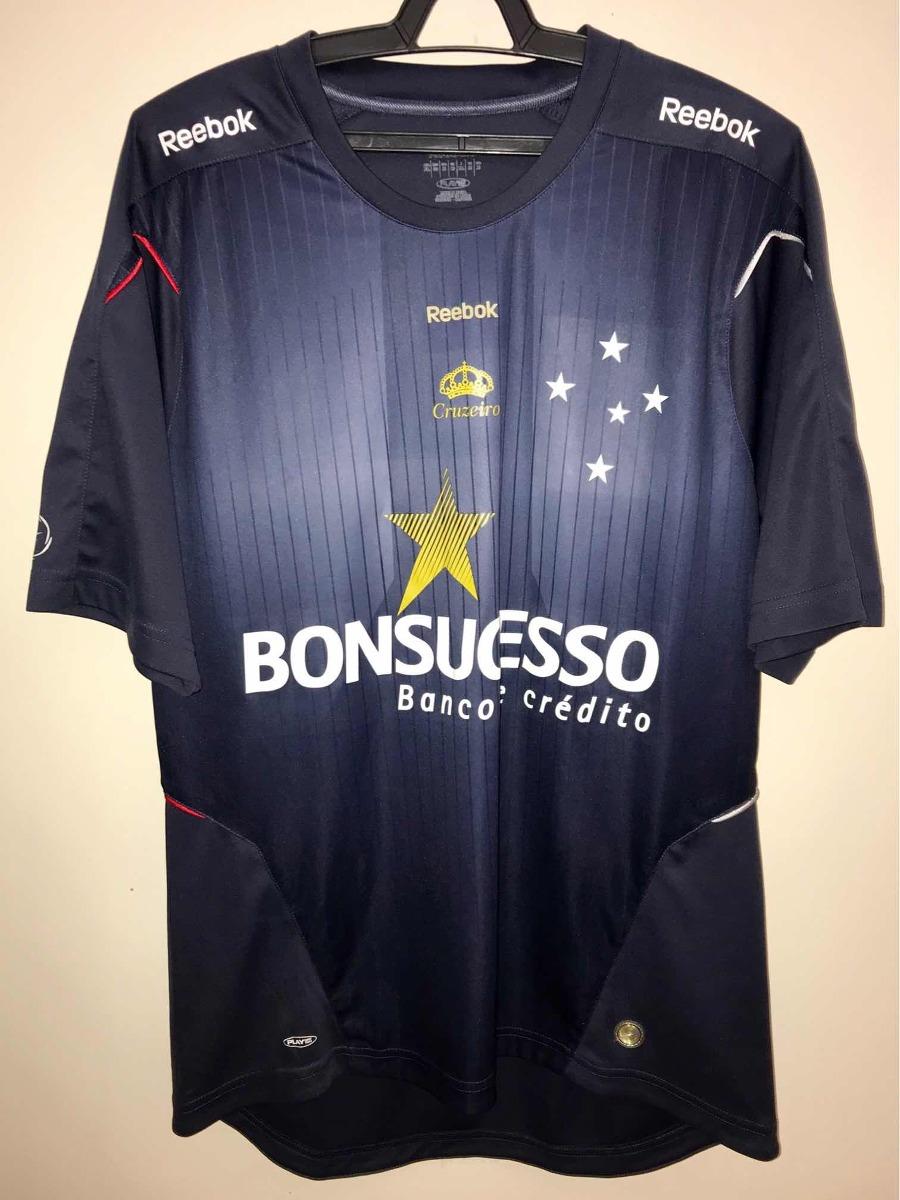 camisa cruzeiro 2009 treino reebok bonsucesso - novíssima. Carregando zoom. 995ffe93898d3
