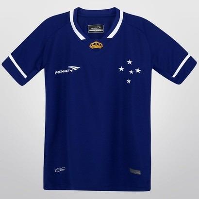 Camisa Cruzeiro 2015 S n Jogo I Feminina Penalty - R  100 44a3db66df4bf