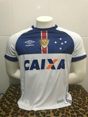 Camisa Cruzeiro 2018 - Blár Vikingur (islândia) - R  95 a095c5f558f95