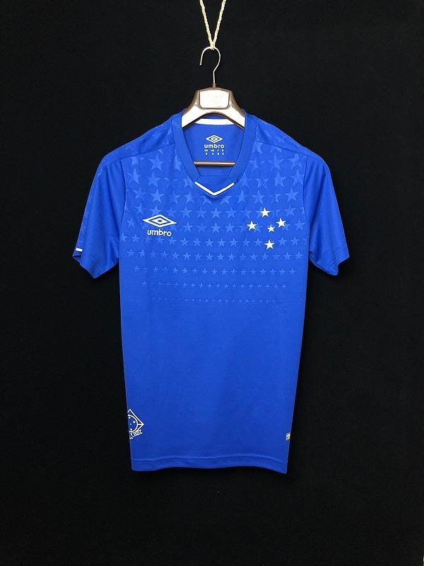 1dc9cba6dd Camisa Cruzeiro 2019 Azul Fred Promoção #blueshop - R$ 139,99 em ...