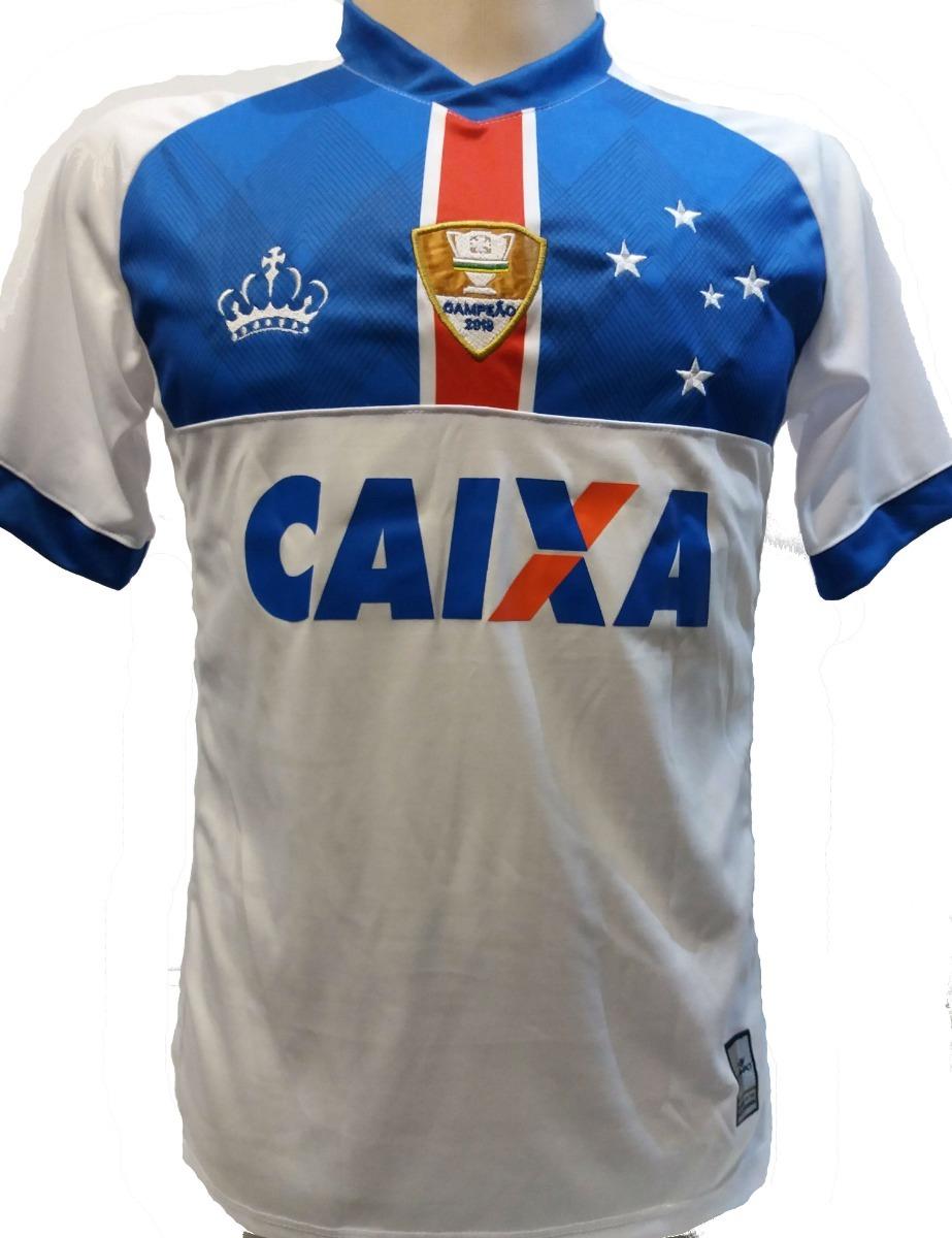 d3c49f5a11 Camisa Cruzeiro Branca 2018 Islandia Promoçao - R$ 49,99 em Mercado ...