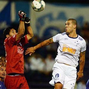 0322bb5e6501c Camisa Cruzeiro Branca Preparada Jogo 2014 Libertadores  10 - R  89 ...