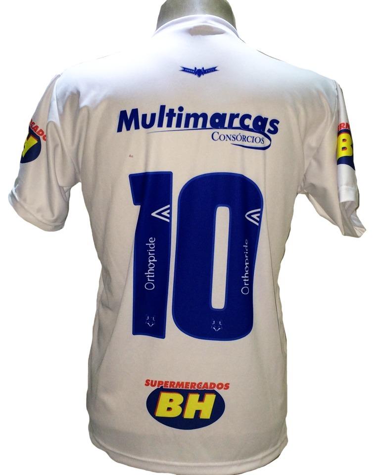 2694668697 Camisa Cruzeiro Branca Nova 2019 Bi Campeão Copa Brasil - R  29