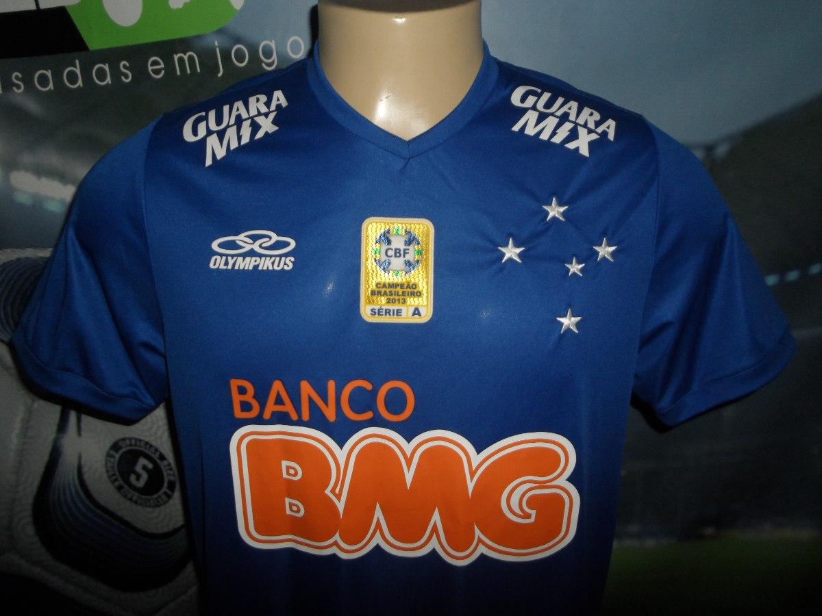 3674716b52ba7 camisa cruzeiro autografada pelo alisson brasileiro 2014. Carregando zoom...  camisa cruzeiro brasileiro. Carregando zoom.