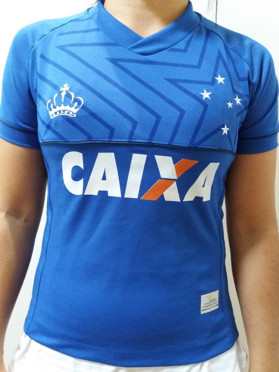 90812de46c Camisa Cruzeiro Feminina 2018 Promoção - R$ 45,90 em Mercado Livre