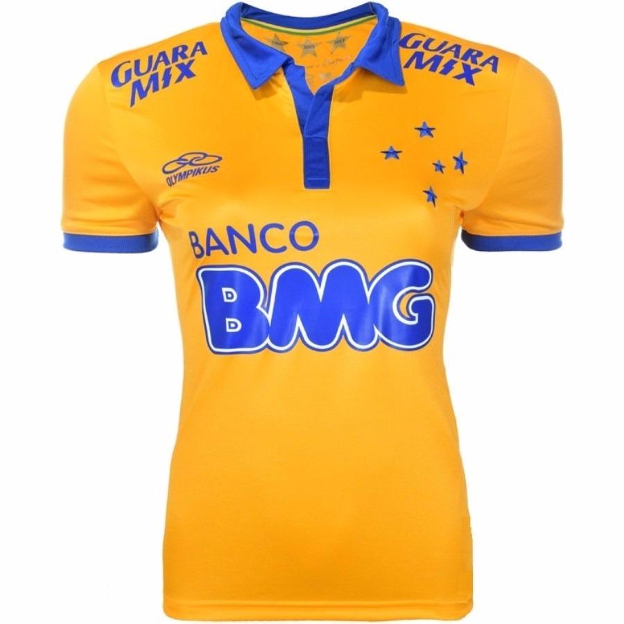 9446e6dea1a4a Características. Marca Olympikus  Time Cruzeiro  Tipo de camisa 3 ...