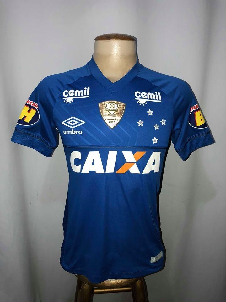 camisa cruzeiro game brasileirão 2018 jogo  16 lucas silva. Carregando zoom. 325105126e859