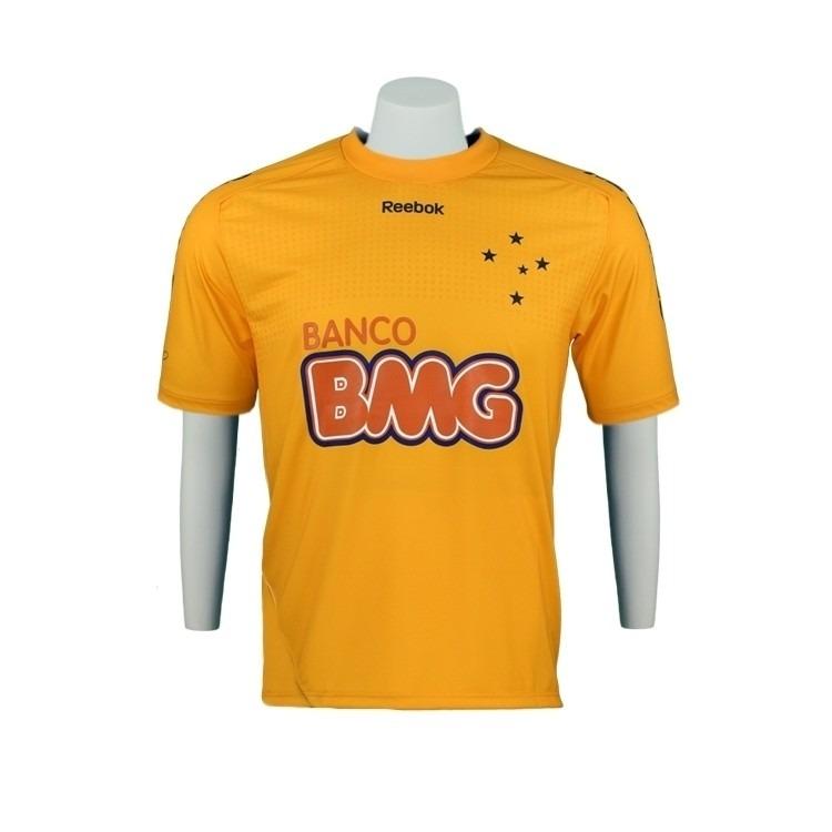 414836ab59dd8 Camisa Cruzeiro Goleiro Fábio Reebok Infantil 2011 - R  79