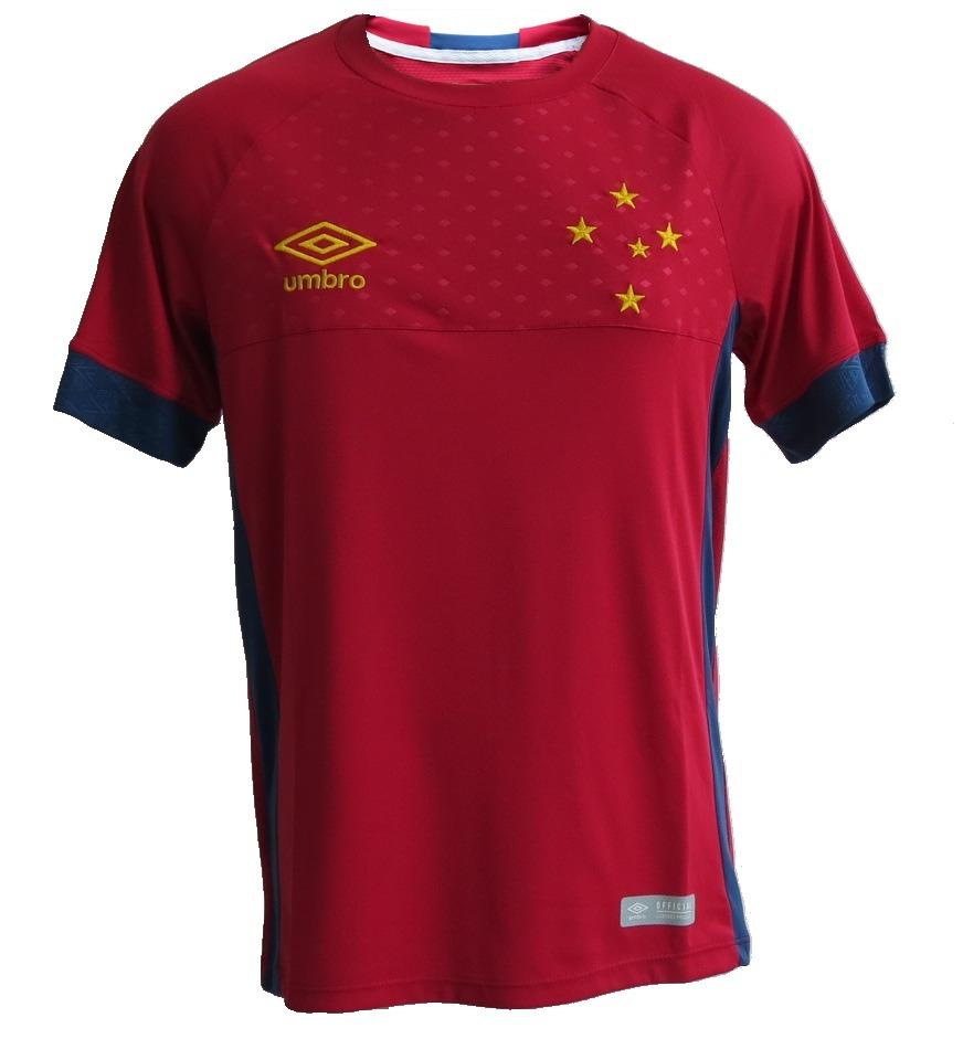 camisa cruzeiro goleiro vermelha 2018 s n. Carregando zoom. 8022b337bbb4b