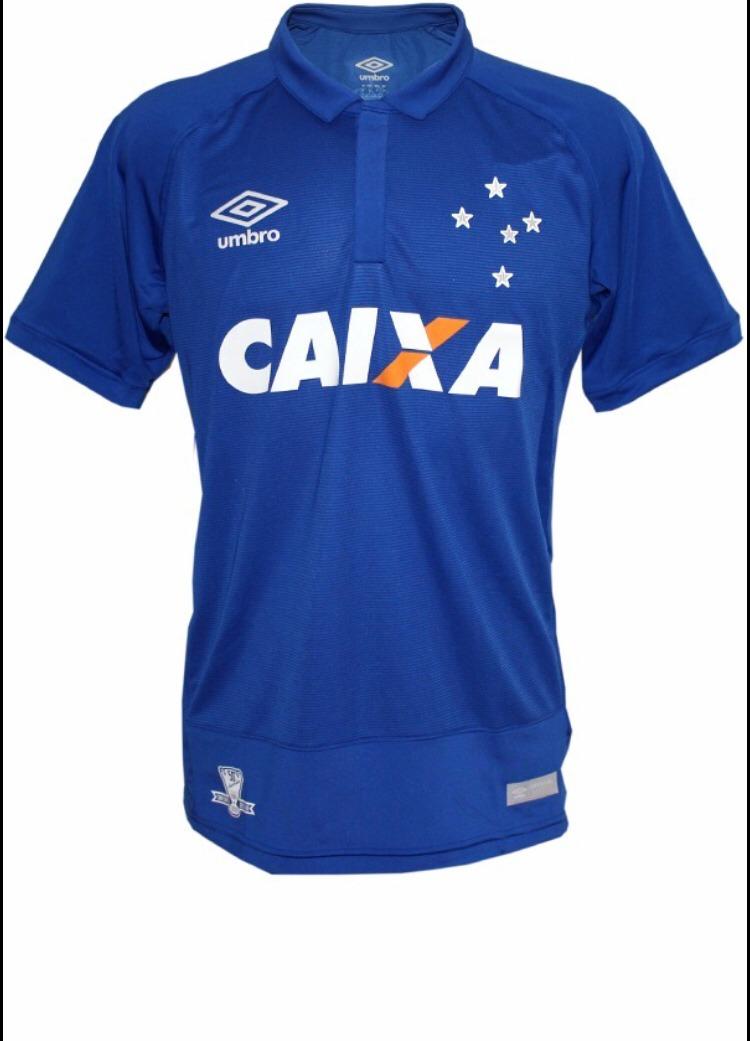Camisa Cruzeiro I 16 17 S n -torcedor Umbro Masculina - Azul - R ... 6bee62b940958