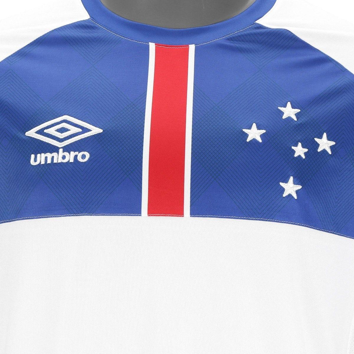 Camisa Cruzeiro Ii 2018 S n° Blár Vikingur - Torcedor Umbro - R  245 ... cbc39253d3b37