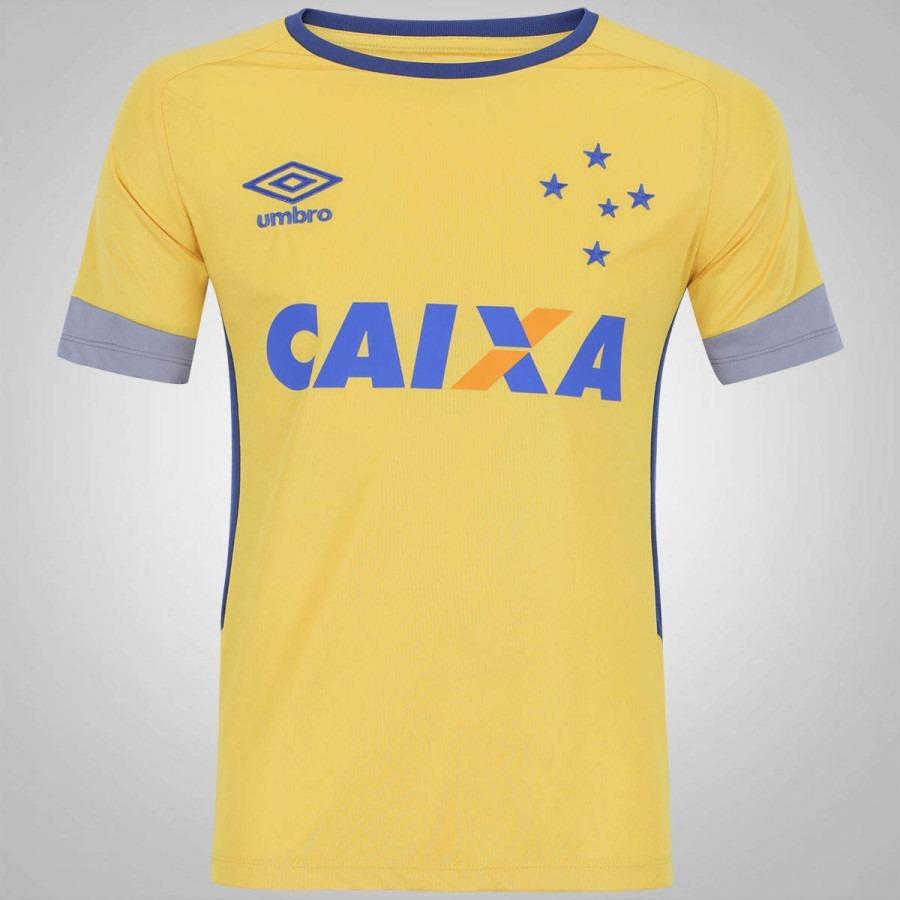 Camisa Cruzeiro Oficial Treino 2016 - Frete Grátis - R  169 8d2ed0ca70781