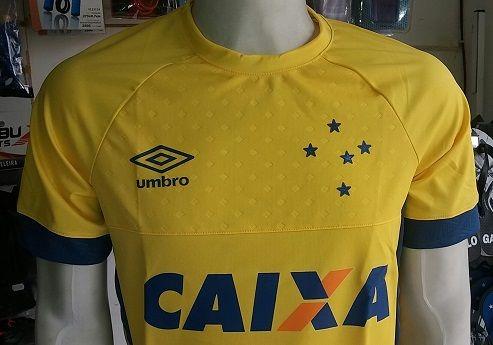 5789ccad13 Camisa Cruzeiro Penalty Fábio Oficial Numero 1 2015 2016 - R  139