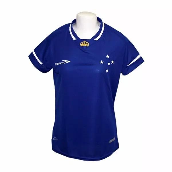 7aa4753c8fc34 Camisa Cruzeiro Penalty Feminina 2015 Oficial Snº- Original - R  99 ...