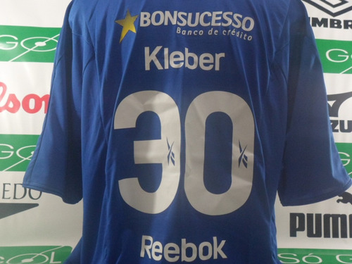 camisa cruzeiro reebok # 30 kleber oficial frete gratis