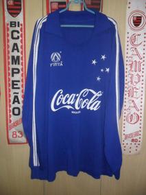 cde5ba2c45 Camisa Cruzeiro Finta 91 no Mercado Livre Brasil