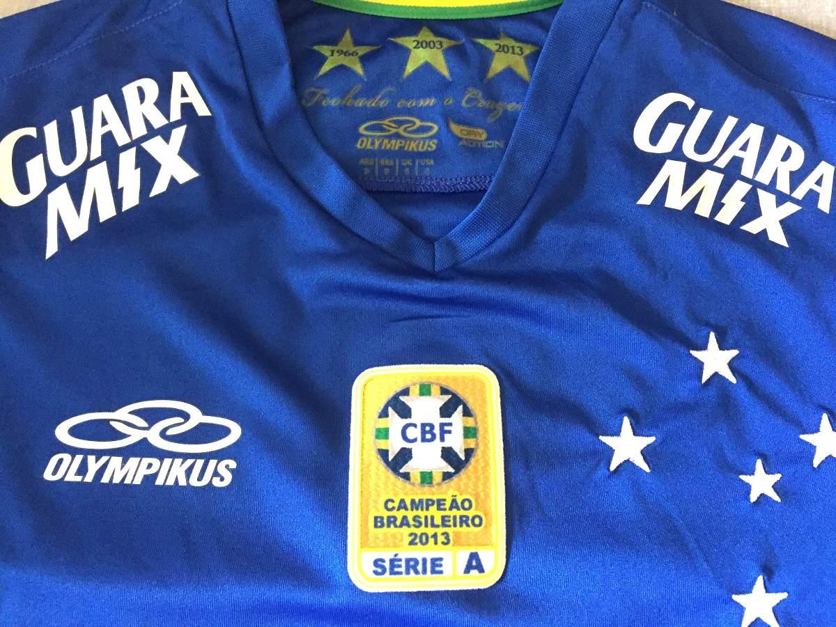 5284a915c5 camisa cruzeiro usada em jogo brasileirão 2014. Carregando zoom.