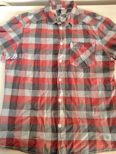 camisa cuadrille de hombre divided hym talle m