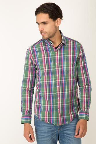 camisa cuadros full color cooke pronto by koaj