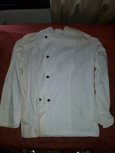 camisa cuello mao de chef