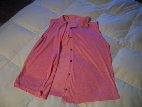 camisa cuesta blanca, sin mangas