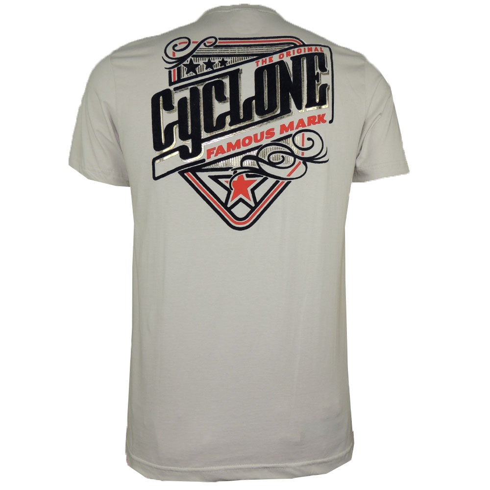 1a476eeafe camisa cyclone design metal flocado original. Carregando zoom.