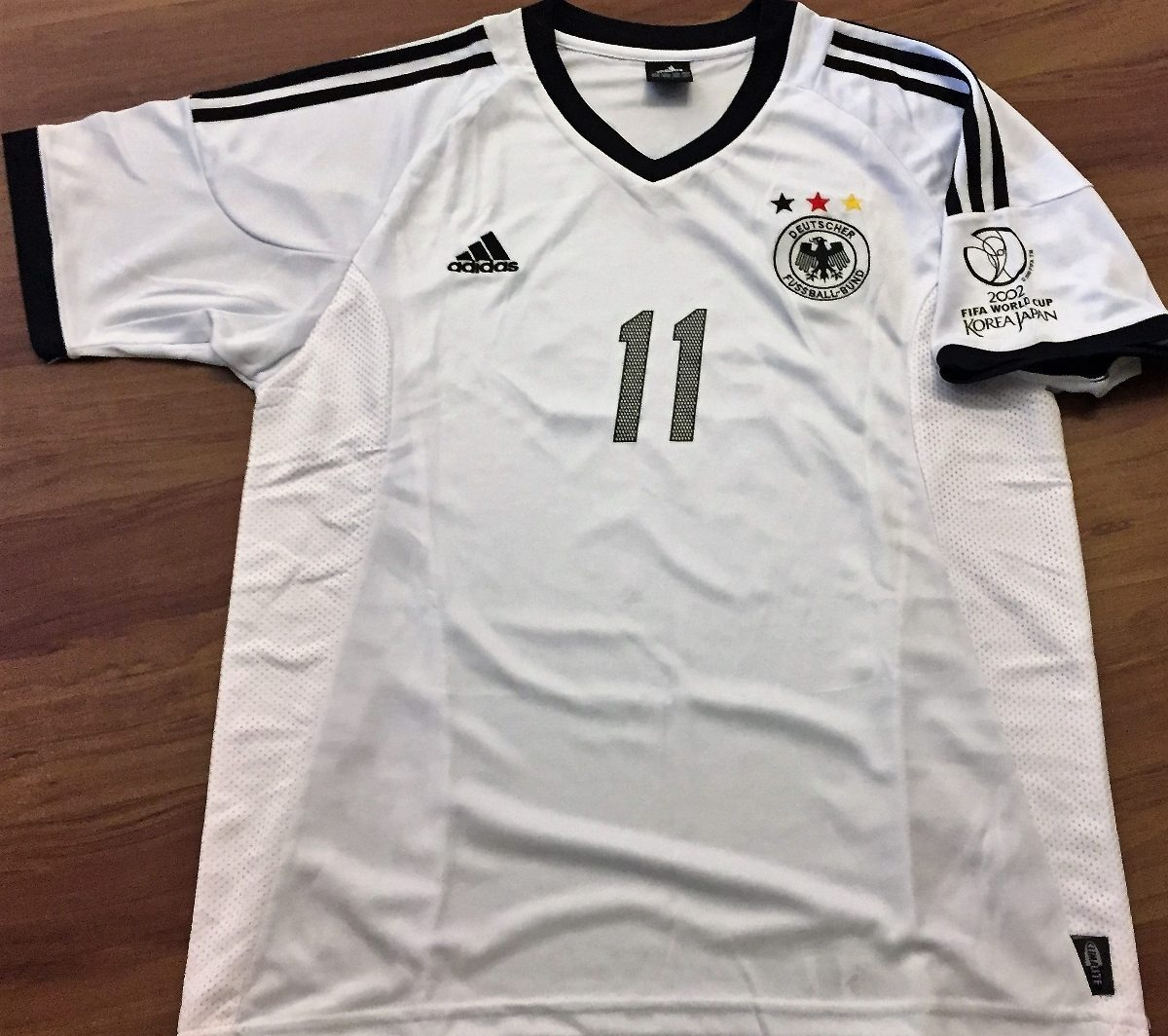 e8c591ea60 camisa da alemanha copa do mundo 2002 autografada klose. Carregando zoom.