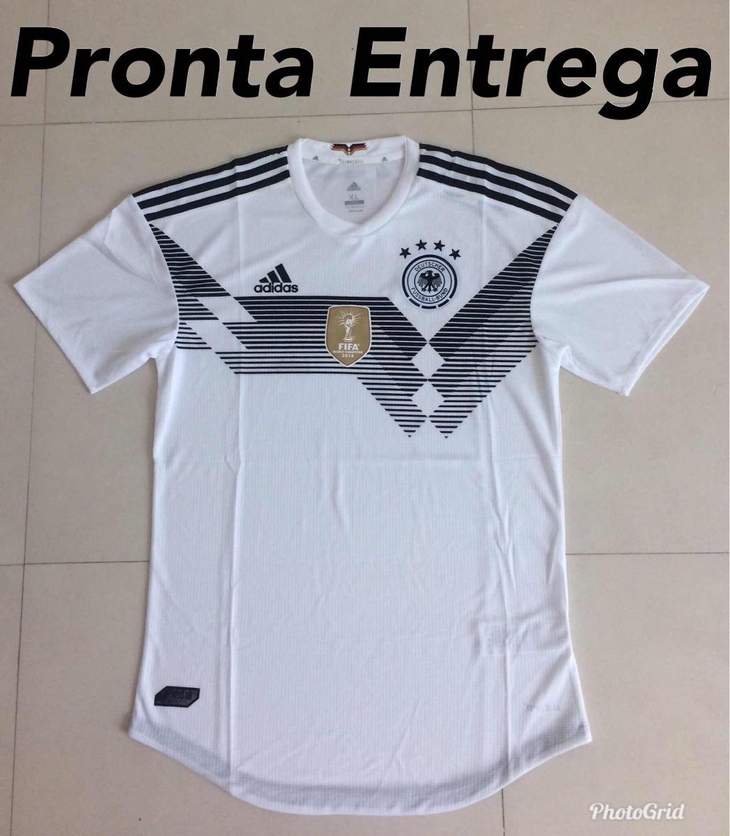 5bd65ec998 Camisa Da Alemanha Oficial 2018 Versão Jogador Fotos Reais - R  149 ...