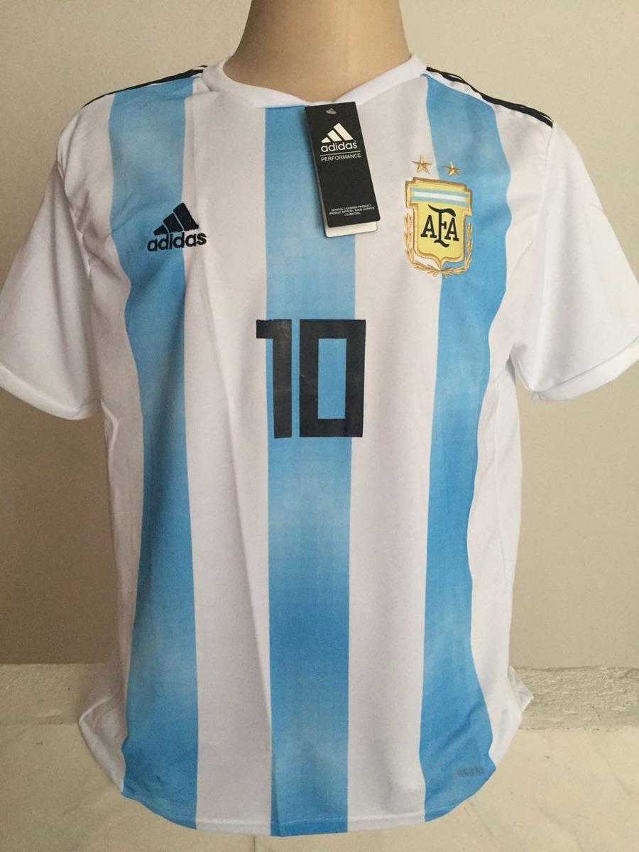 75dbdb5015e2d camisa da argentina 2018 10 messi + boca juniors. Carregando zoom.