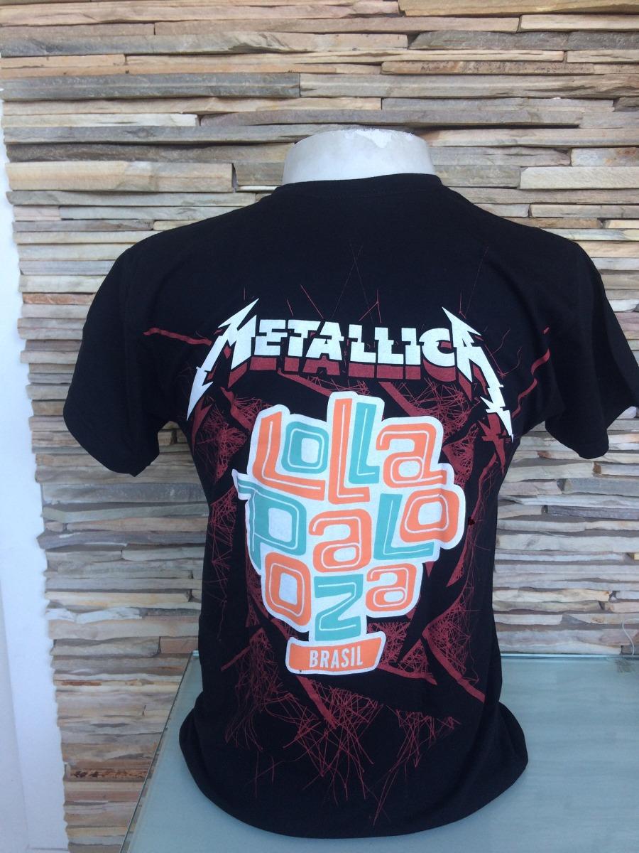 Camisa Da Banda Metallica - R  35 ab8d4bb4c1c5a