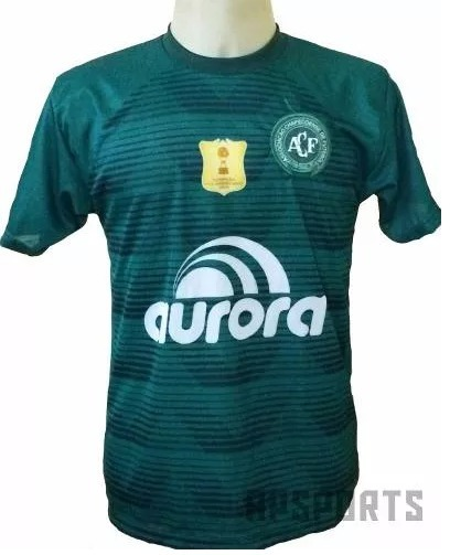 Camisa Da Chapecoense Nova Chape Verde Branca Bordado 2018 - R  19 ... ab53367d3dee2