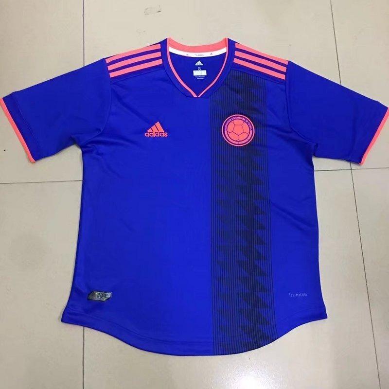 5bd9058f7 camisa da colômbia azul - copa 2018 - pronta entrega. Carregando zoom.