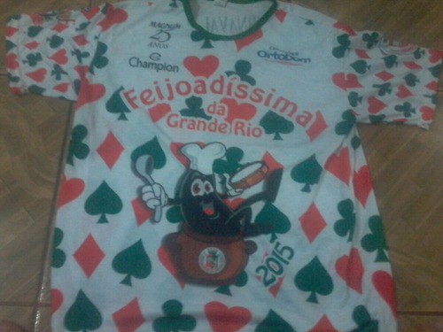 camisa da escola de samba grande rio