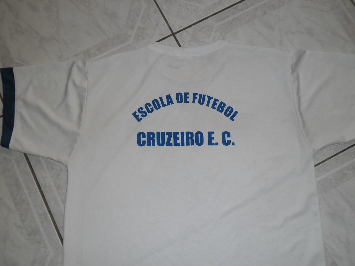 Camisa Da Escolinha De Futebol Do Cruzeiro - R  30 006824208a09a