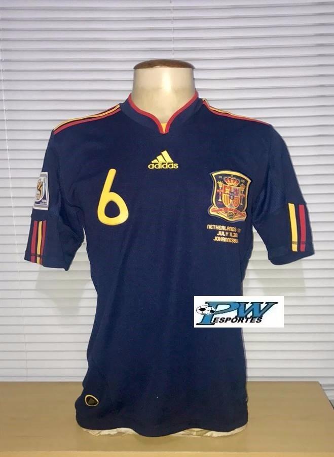 258c9e4525898 camisa da espanha final copa do mundo 2010  6 iniesta. Carregando zoom.