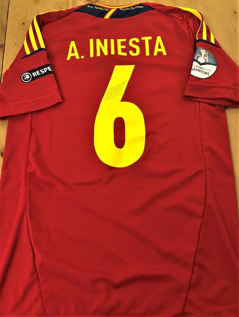 3ff51cd565 camisa da espanha final euro 2012 autografada todos. Carregando zoom.
