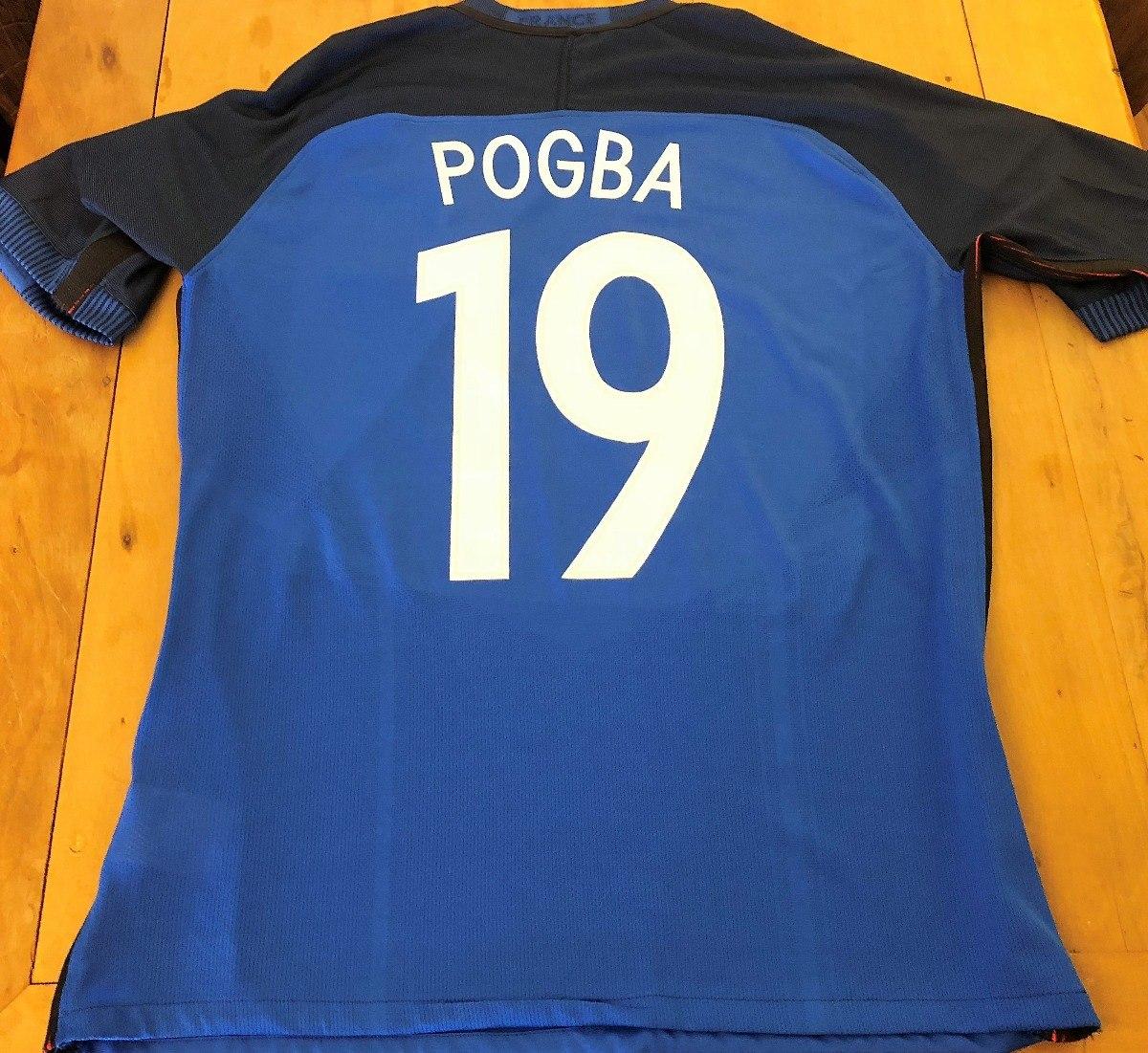 Camisa Da França Autografada 8 Campeões Mundiais - R  599 4de7297d3aca9
