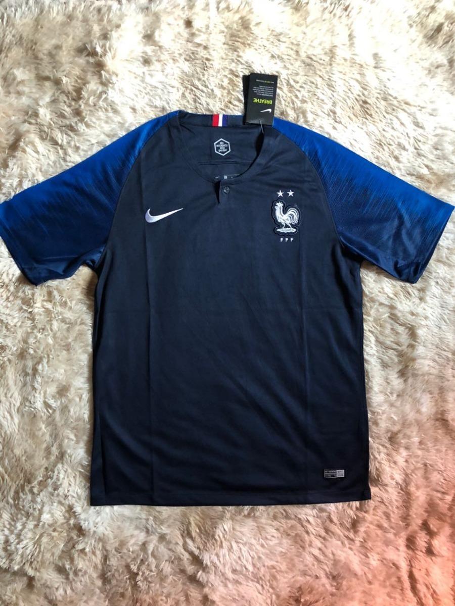 b161ad3a98 camisa da frança azul masculina oficial - oferta imperdível. Carregando zoom .