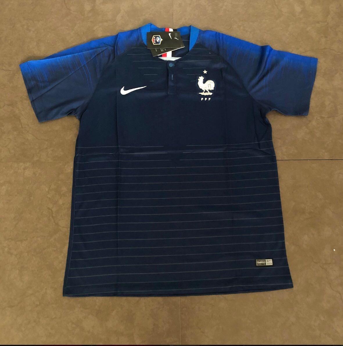 b63b17d443 camisa da frança nike original - uniforme 1 e 2 super oferta. Carregando  zoom.