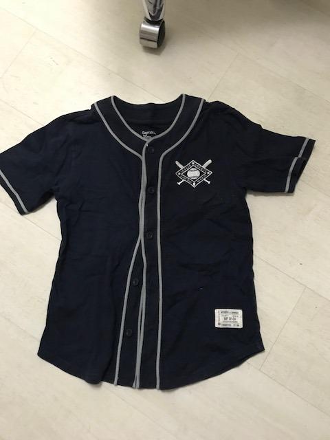 Camisa Da Gap Modelo Jogador De Baseball Linda! Tam. 10 Anos - R  44 ... 1f5ae2d2f85f7