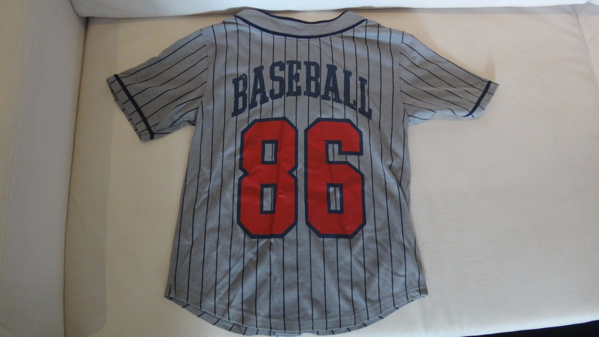 camisa da gap modelo jogador de baseball linda!! tam. 8 anos. Carregando  zoom. e619b5f7c08c9