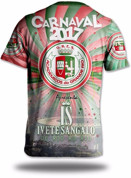 Camisa Da Grande Rio 2017 - Carnaval 2017 - R  43 c7604873f13a7