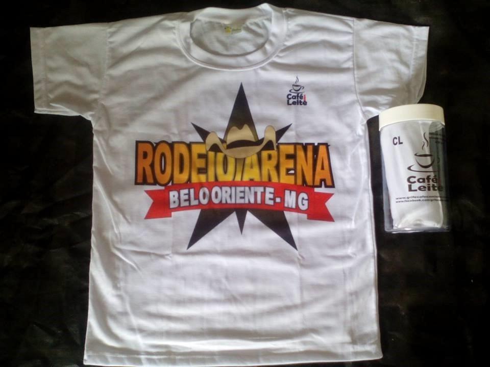Camisa Da Grife Cafe Com Leite No Pote - R  39 afeac5a60ca