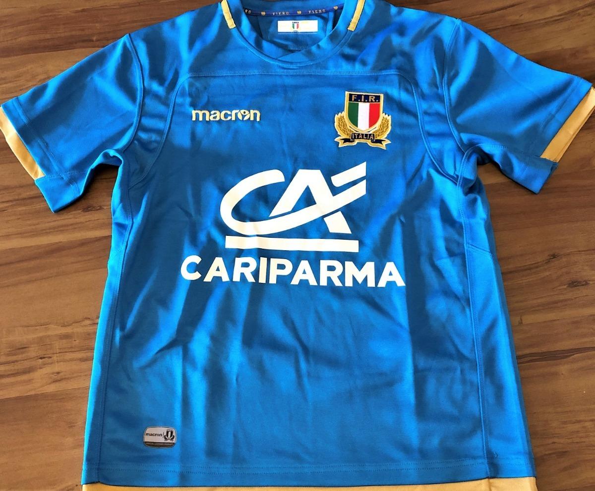 7740fd59c2 Camisa Da Itália Rugby Numerada Oficial - R$ 260,00 em Mercado Livre