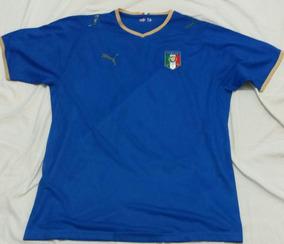 101a9340e3 Camisa Italia Treino Puma G - Camisas de Futebol no Mercado Livre Brasil