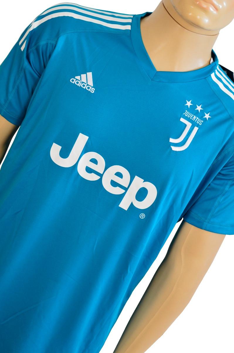 73cb1d30df1d0 Camisa Da Juventus 17 18 Goleiro Azul (buffon 1) - R  120
