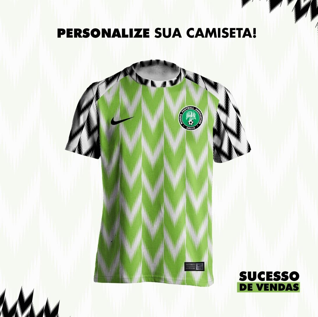 7f24a06ee9 camisa da nigéria copa 2018 verde blusa seleção da nigéria. Carregando zoom.