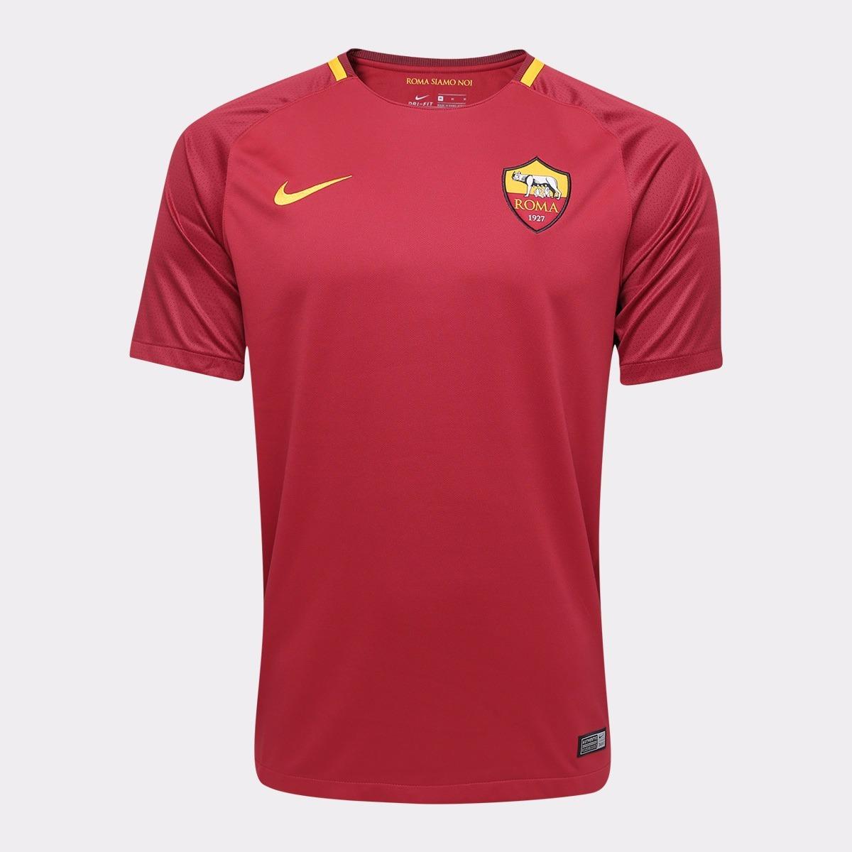 9b0d10cb48ae9 Camisa Da Roma Original Nova Lançamento Itália Europeu Time - R  125 ...